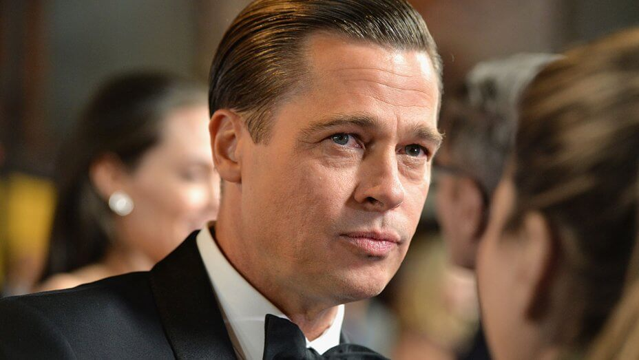 Strong Personality Brad Pitt Displeased