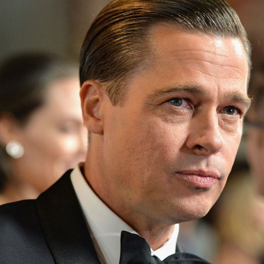 Strong Personality. brad_pitt_displeased