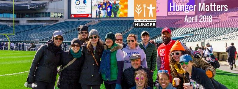 help stop hunger while meeting new people in philly