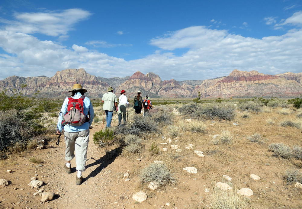 meet other nature lovers in las vegas during red rock canyon events