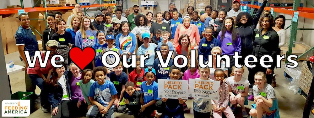 Help and Meet volunteers in Nashville at the Second Harvest Food Bank of Middle Tennessee