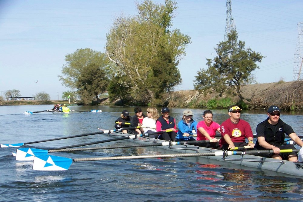 Rowing Is A Way To Get New Friends In Stockton