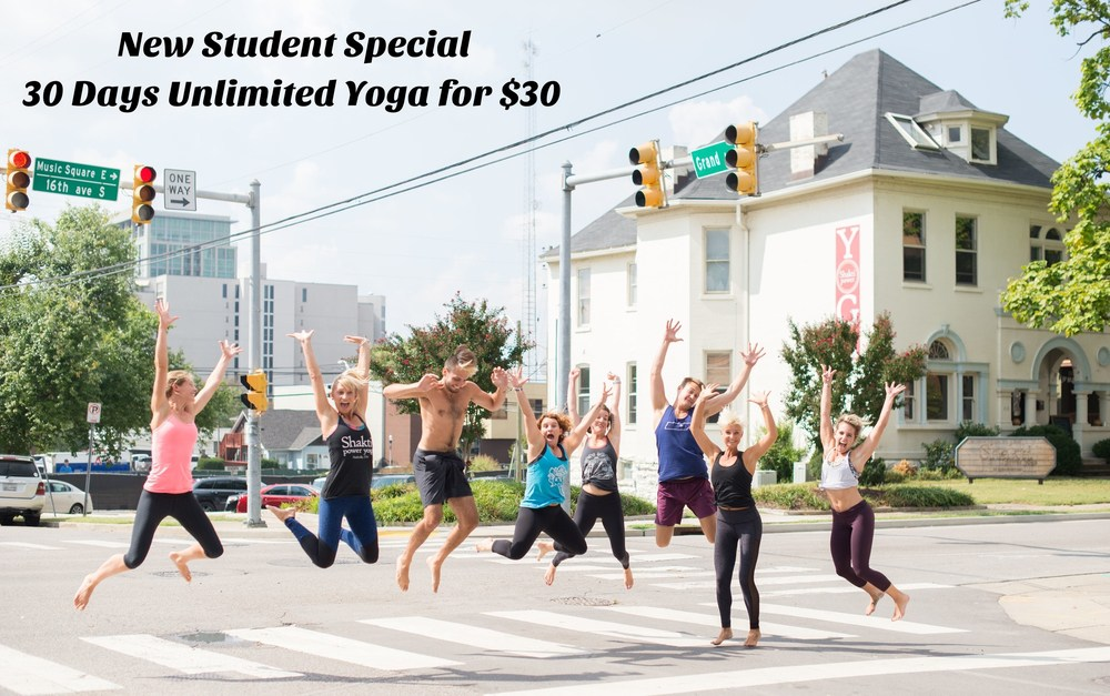 Shakti Power Yoga is a nice place to meet new friends in Nashville