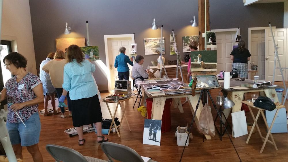The Chestnut Group is a great place to paint, learn to paint and meet new friends in Nashville