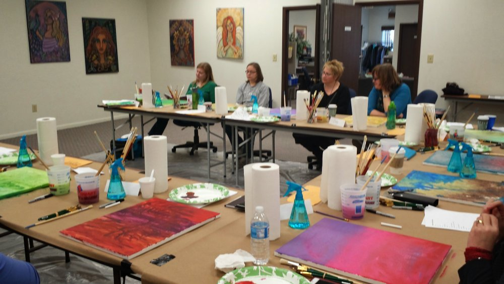 Engaging With People In Art Class Is A Great Way Of Meeting New People In Lexington