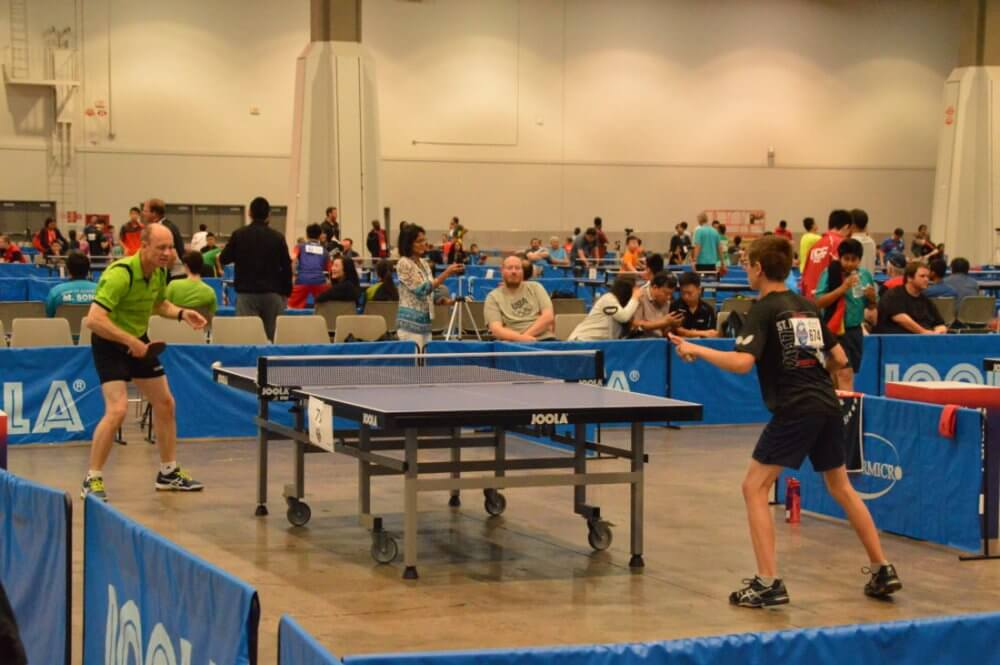 Playing Table Tennis Is A Good Way To Meet People And Making Friends In Plano