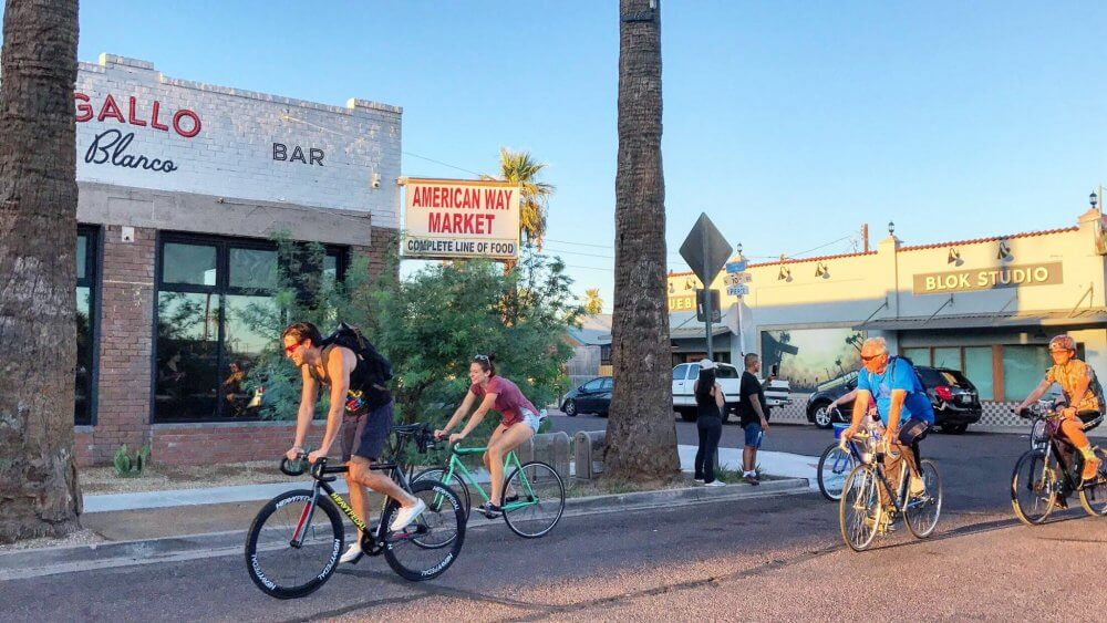 Weekend Biking Is A Great Way Of Making New Friends In Phoenix