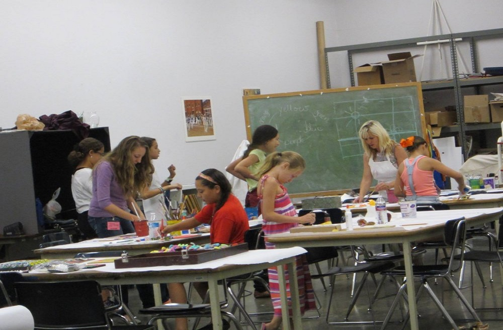Attending Art Classes Is A Great Way Of Making Friends In El Paso Texas