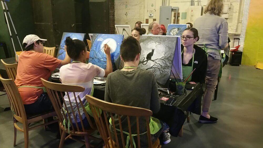 Attend Art Class In Norfolk And Meet New Friends