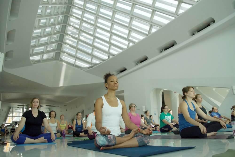 Do Yoga Meet New Friends In Milwaukee