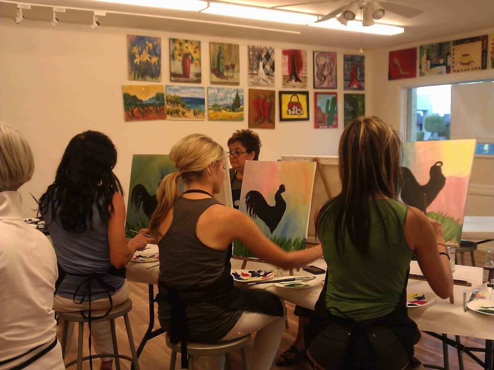 Join Art Classes In Glendale And Make Friends
