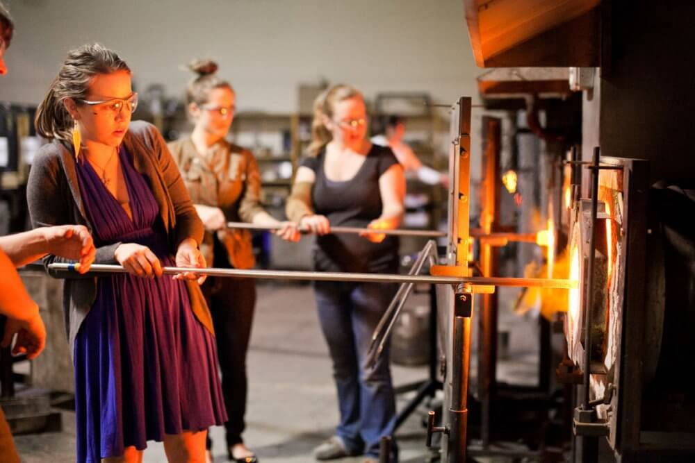 Learn The Art Of Glass Blowing In Baltimore And Make New Friends