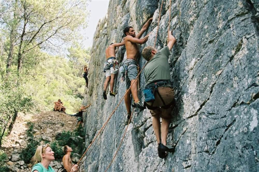 Mountain Climbing Can Be A Great Way Of Making Friends In Durham