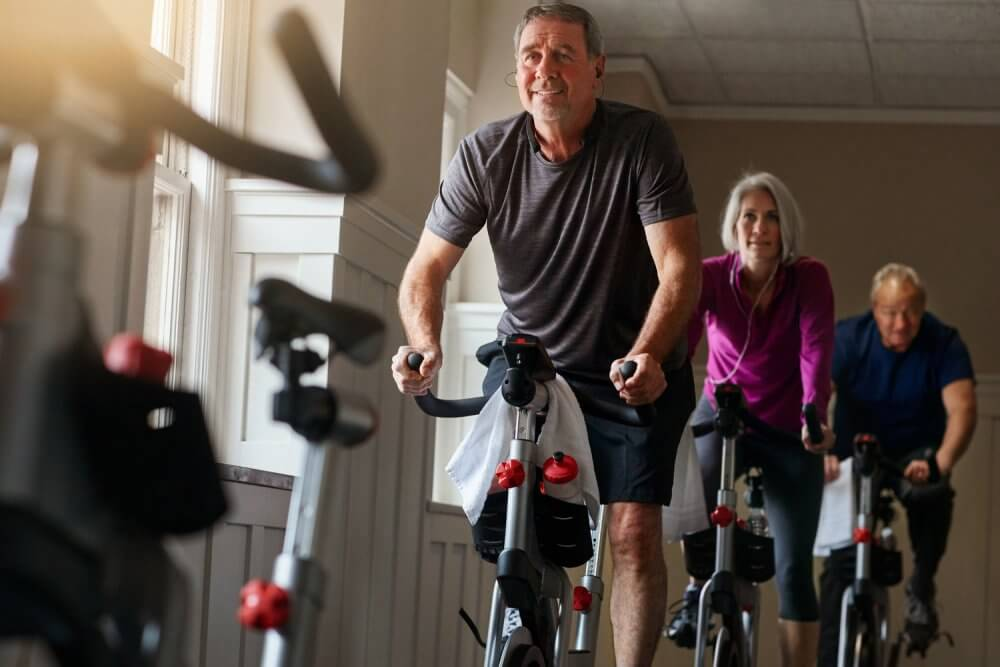 Sweat It Out At An Indoor Biking Club And Meet New Friends