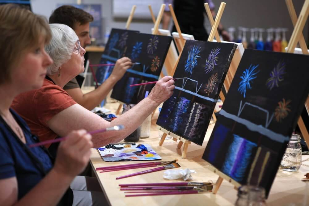 Attend Painting Classes In Grand Rapids And Meet New Folks