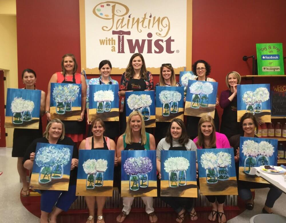 Learn Paint With A Twist In Columbus And Make Friends