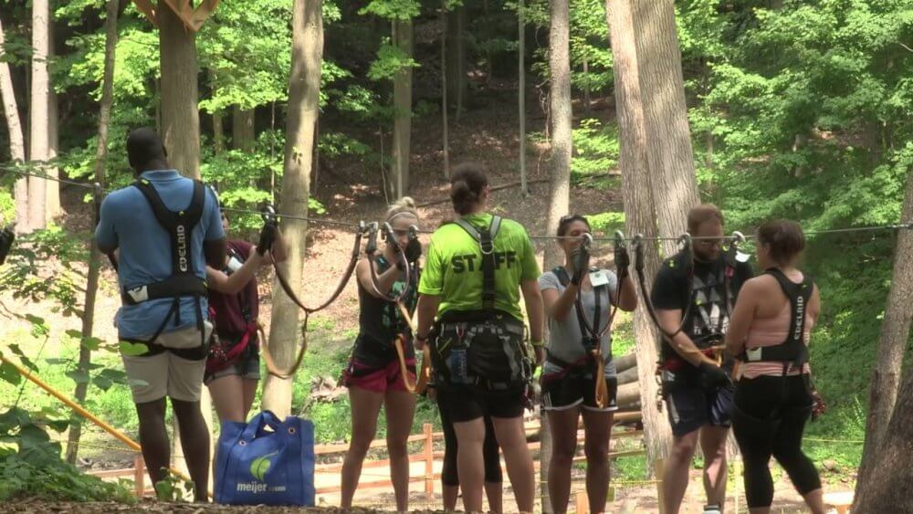 Meet New Friends In Adventure Parks In Grand Rapids