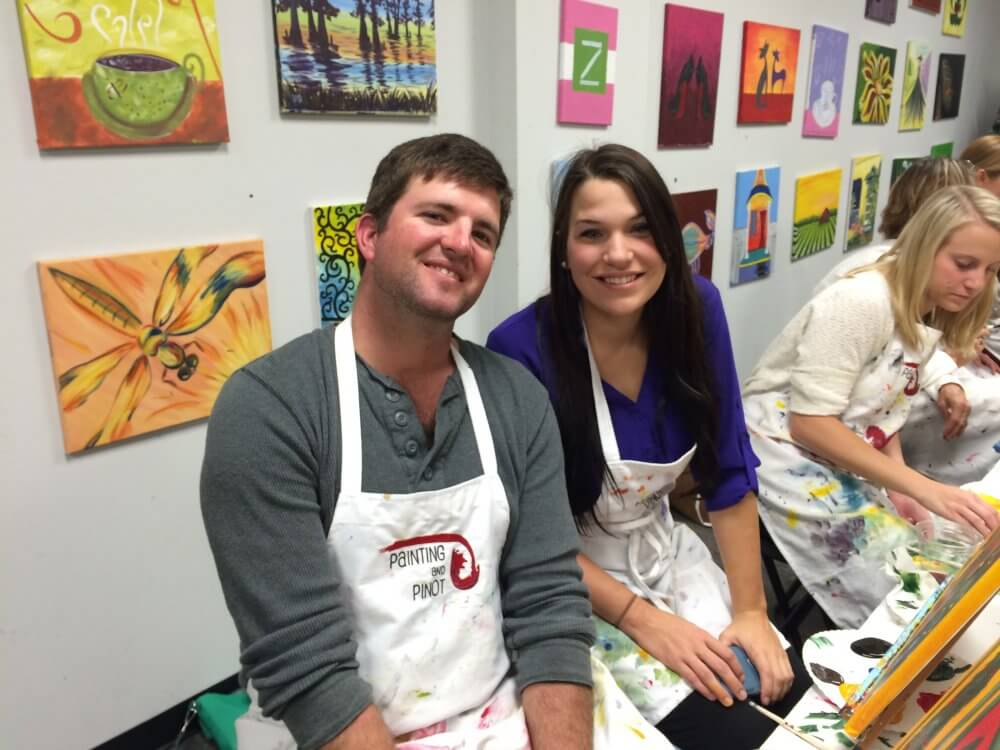 Painting Can Be A Great Way Of Making New Friends In Baton Rouge
