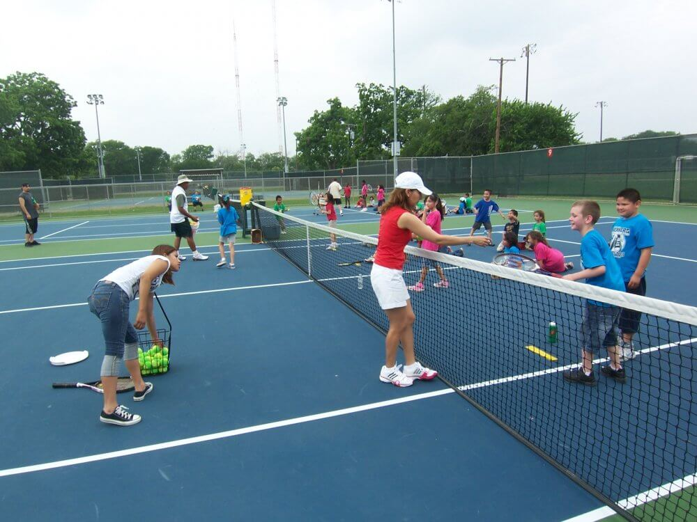 Play Tennis In Garland And Make Friends