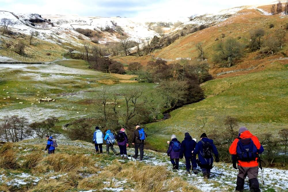 Get on your walking boots and explore the countryside