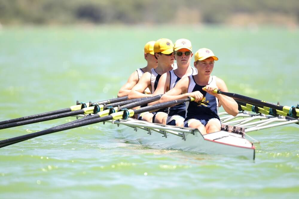Stay fit through rowing