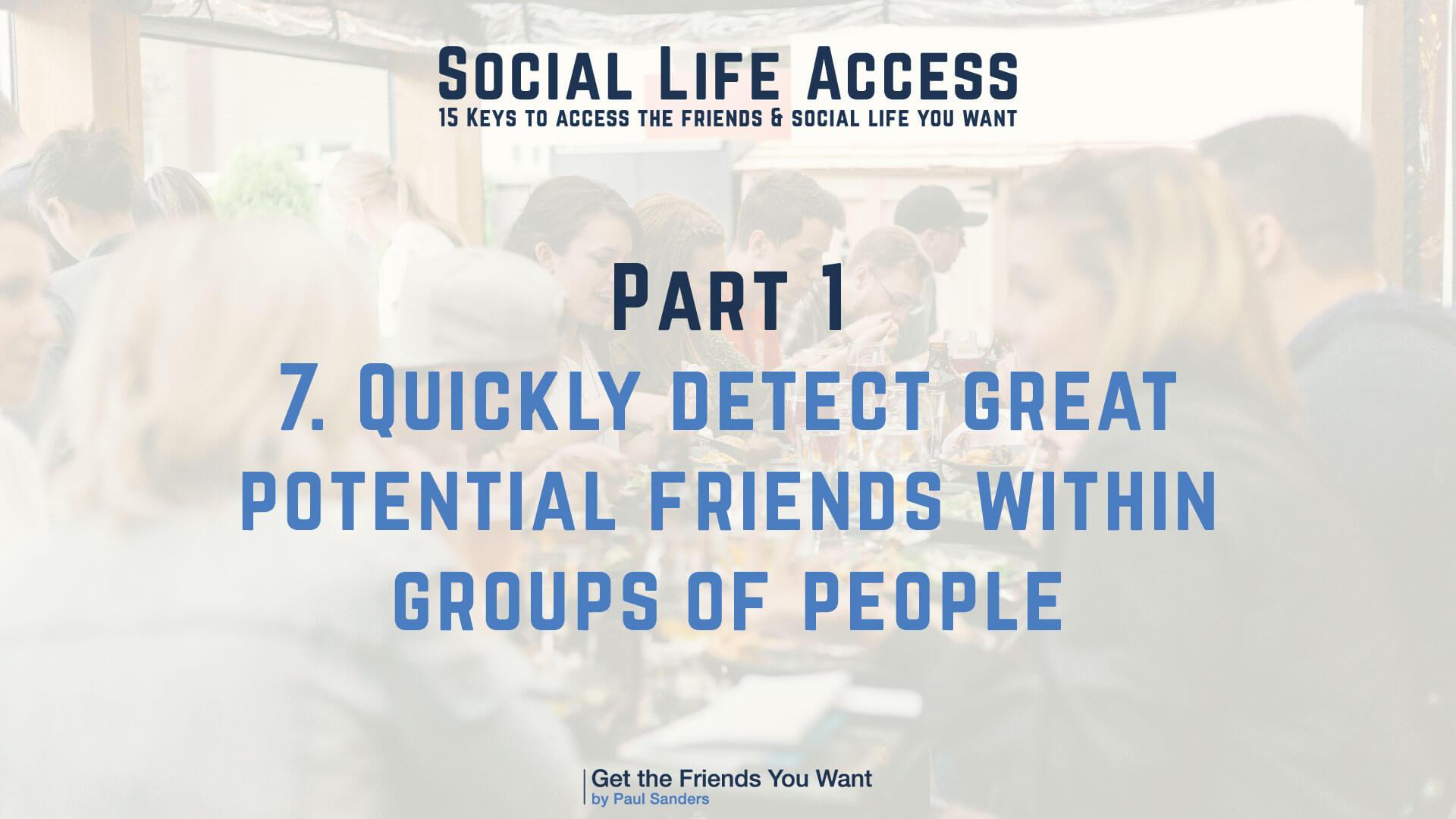 Social Life Access