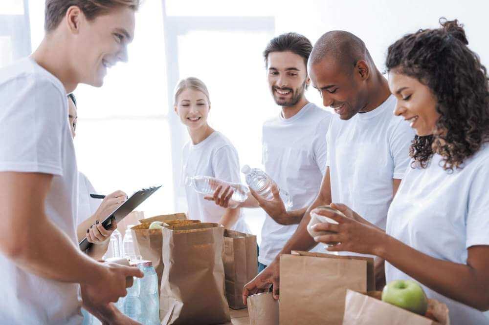 Volunteering as a conversation topic