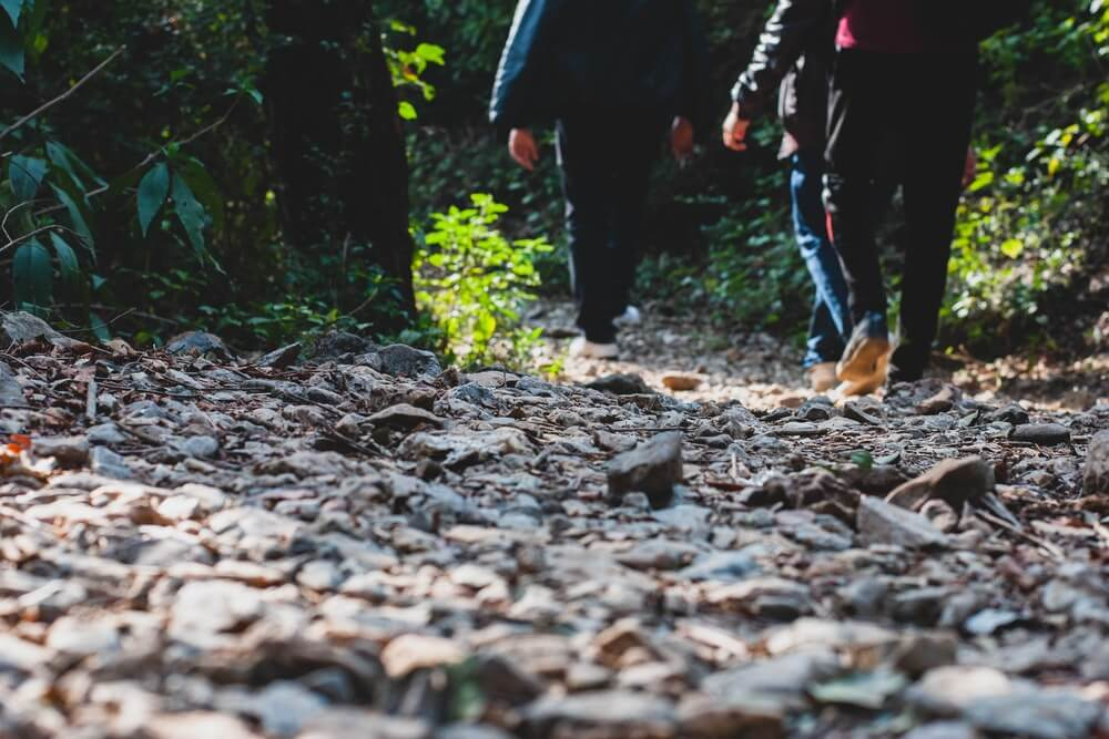 Make friends through walking