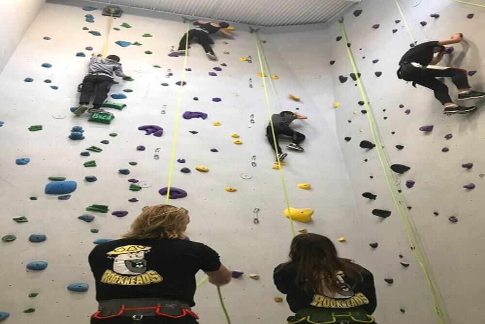 Get active with Indoor Rock Climbing