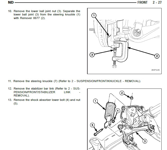 2005 DODGE Dakota Workshop Service Manual