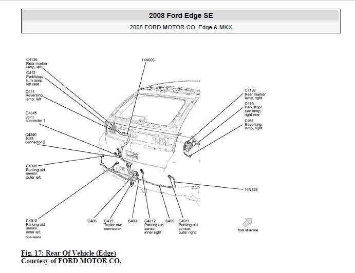 2008 FORD Edge Service Manual