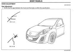 2006 MAZDA 5 Body Repair Manual