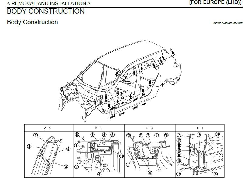 2014-2021 NISSAN X-Trail T32 Service Manual