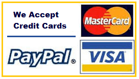 accept credit cards