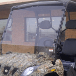 CUV400 windshield