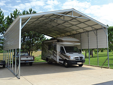 RV Camper Shelter Carport