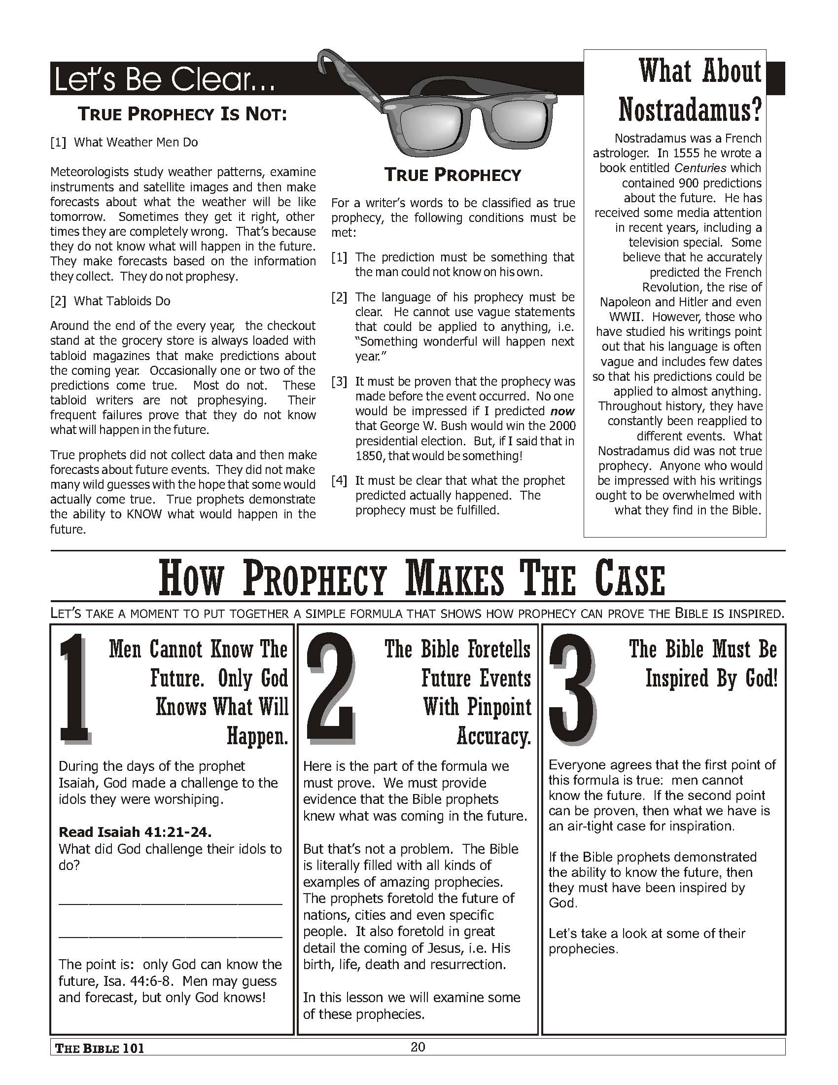 Bible 101 (Sample Pages)