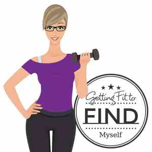 Getting Fit to Find Myself Avatar Logo with Title SMALL