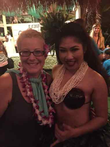 Big Kahuna Luau Hula Dancer