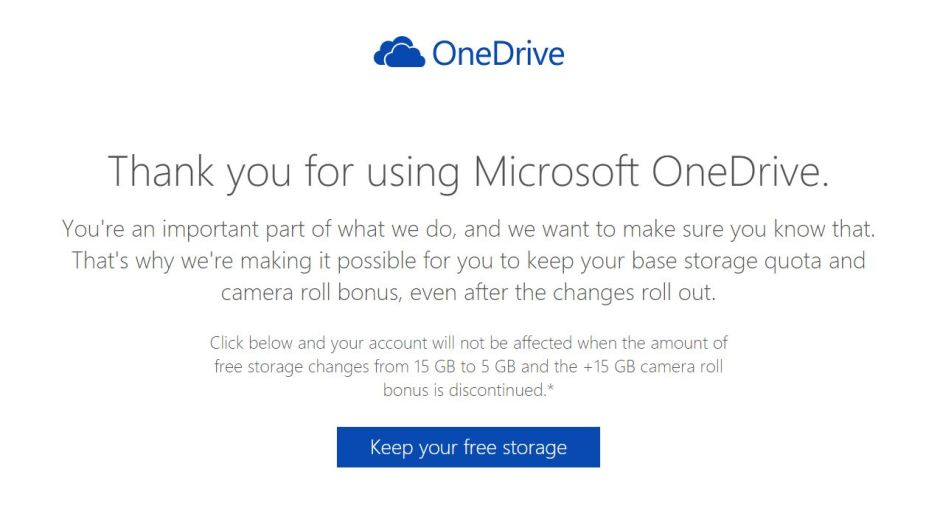 top onedrive storage from being reduced