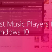 best music players for Windows 10
