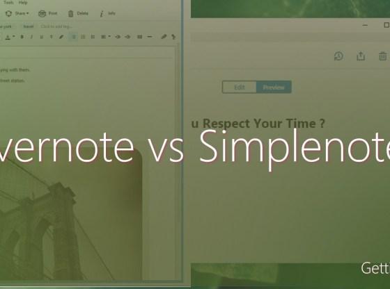 evernote vs simplenote