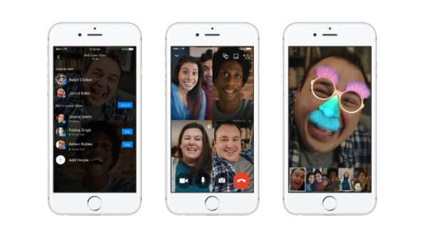 Now You Can Do Group Video Chats on Facebook Messneger