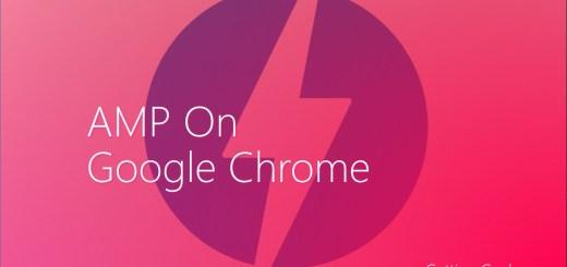 amp on google chrome desktop