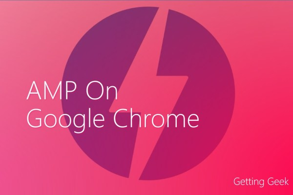 amp on google chrome desktop