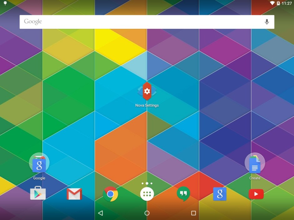 Personally, I think Nova is the best launcher for Android Tablets