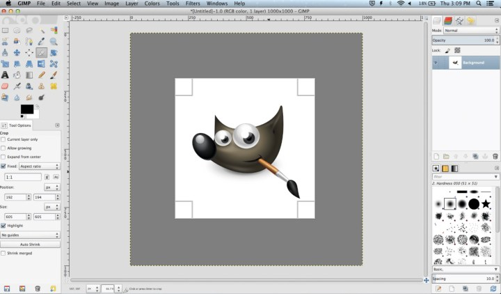 GIMP is a powerful image editor