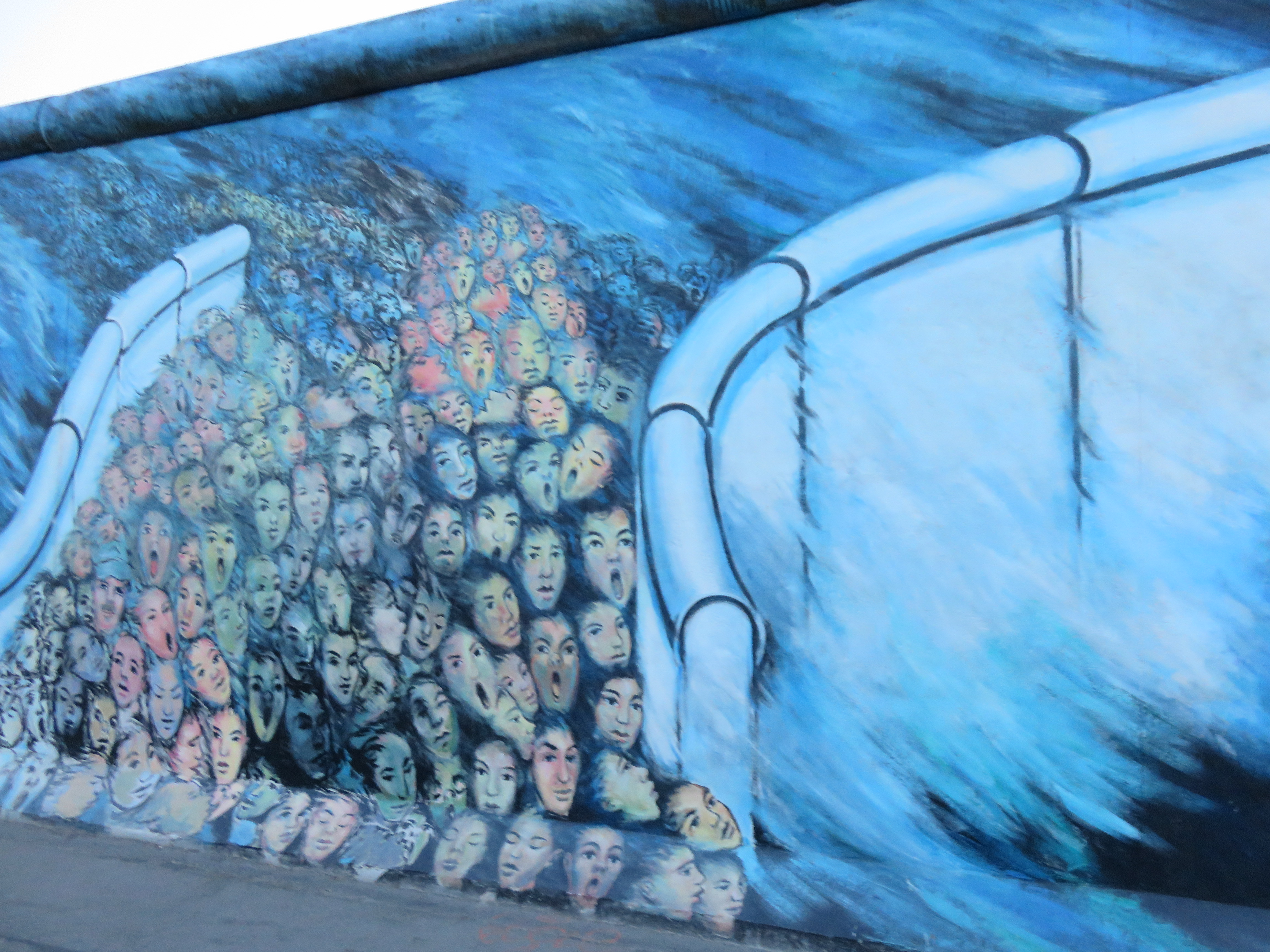 Cool Art at the East Side Gallery Berlin Wall  Getting Gone