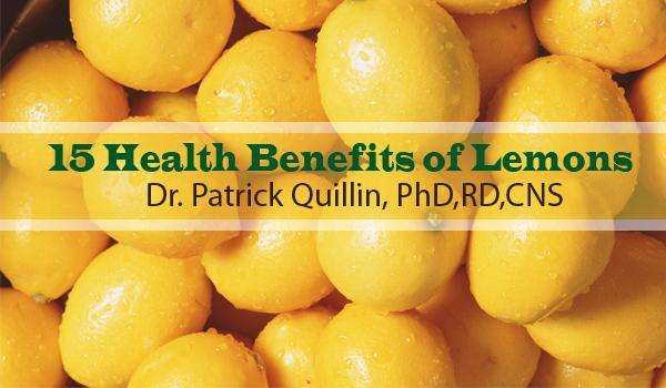 15 Health Benefits of Lemons