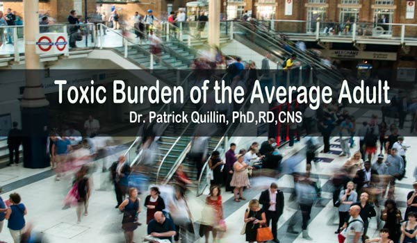 Toxic Burden of the Average Adult